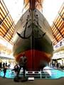 Amundsen and his ship Fram