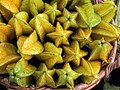Star Fruit (Carambola) in the produce section at Publix