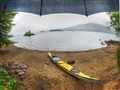 Rainy Kayak