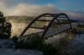 Pennebacker Bridge over Lake  Austin in Austin Texas