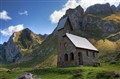 Chapel on Meglisalp (Appenzell, Swiss Alps)