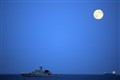 Black Sea moonrise