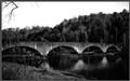 The old stone bridge near the Cumberland Falls
