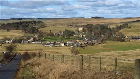Elsdon, Northumberland, UK, 2/2012