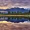 First light Lake Matherson