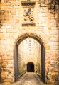 Alnwick Castle gatehouse
