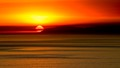 Smokey Sunset Behind Catalina Island CA