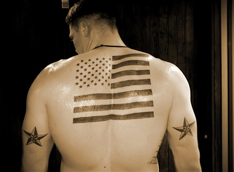 Patriotic Tattoo 007peter Galleries Digital Photography Review Digital Photography Review