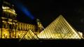 Louvre museum by night - Paris