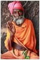 Sadhu in Hampi