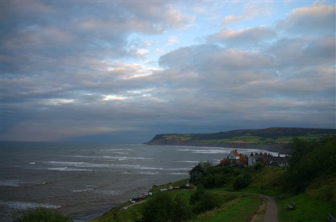 White Horses in Robin Hoods Bay