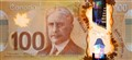 Canadian newest $100 plastic note