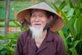 We met a 93 year old gardner tending his fields in Vietnam