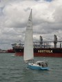 Yacht and Bulk Carrier Ship