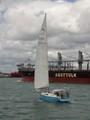Yacht and Bulk Carrier Ship