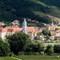P8250330 smaller: Dürnstein in the Wachau region of Austria with its famous blue church