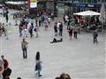 Spleeping in the square