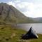 Camping by Loch Morar