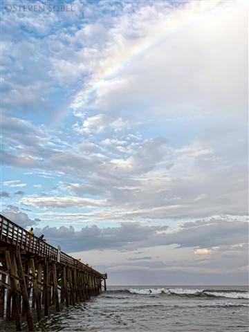 Flagler Pier Rainbow