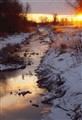 Monaghan Creek at Sunrise