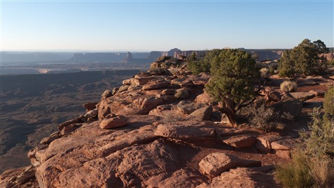 Sunset in Canyonlands
