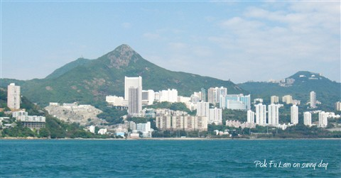 Pok Fu Lam on a sunny day