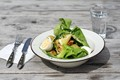 Omega Salad at Restaurant Leva (category A)