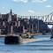 East River Barge - Roosevelt Island