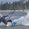 Kiteboarding posing