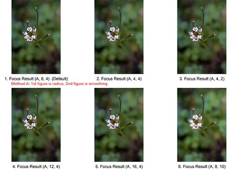 4. Helicon Images, Method A