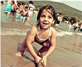 Fun time on beach...