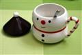 My son's special Christmas Snowman mug!