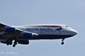 British Airways B747 on Approach
