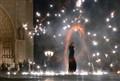 Busker at Notre Dame 2 (i)