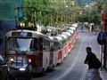 streetcar pile up