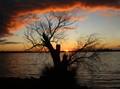 Lake Culluleraine sunset
