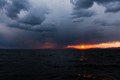 Sunset in Storm