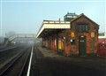 Quainton Station in the mist