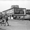 Blackboard Jungle sign 1953: I was 13 and took this in Rockaway Beach. My first 35mm camera.  I forgot the name.