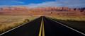 The road to Vermillion Cliffs