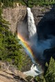 At 141 m (463 ft), Helmcken Falls, in the Wells Gray Provincial Park, is  the fourth highest waterfall in Canada.