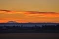 Sunrise over Mount Adams