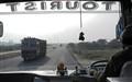 Bus meets Truck