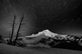 Mt Hood 45 minute exposure
