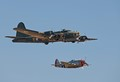 B17 and P47 little friend