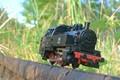 toy on rail