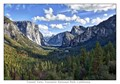 Tunnel View - Pines with El Capitan and Half Dome