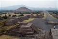 Teotihuacan: The view from the Piramid of the Moon