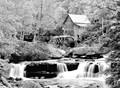 glades mill in b&w