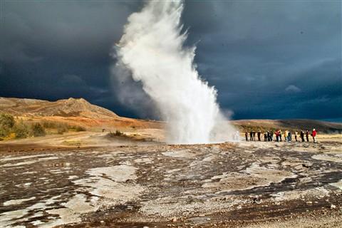 "Iceland: ""Strokkur"" Geysir"